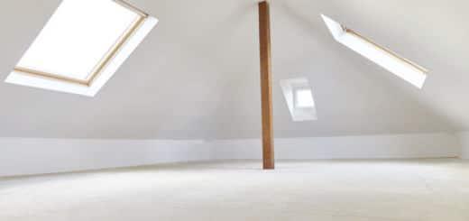 Dachwohnung Innenraum